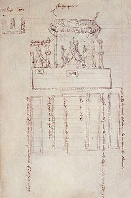Dish of the Day - II Seating_plan_for_coronation_banquet_anne_boleyn
