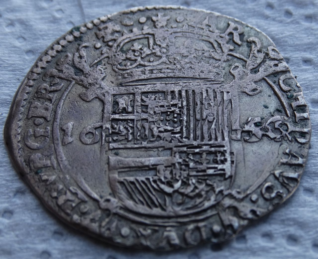 Escalin de 1654, Felipe IV. Amberes DSC04956