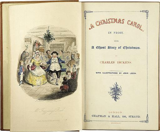 Dish of the Day - Page 3 Charles_Dickens-_A_Christmas_Carol-_Title_page
