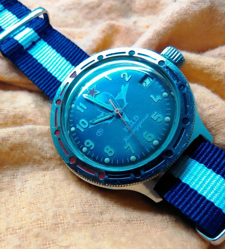 Relógios de mergulho vintage PL_Komandirski_V