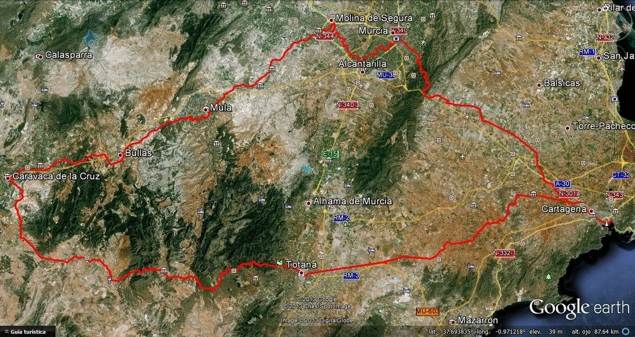 (26/10/2013) HUELLA DEL ASNO. 24h NON-STOP RECORRIDO