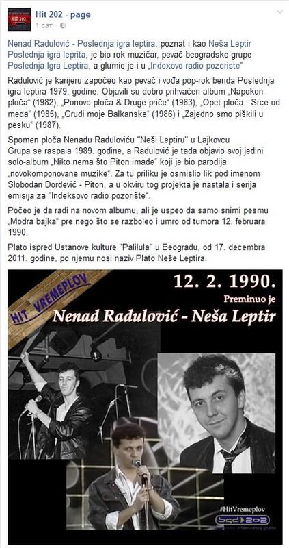 Sjećanje na Nenada Radulovića (Nešu Leptira) Screenshot_1