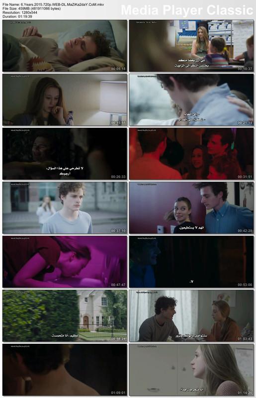 الفيلم الدرامي الرومانسي المُمتع 6Years 2015 مترجم بجودة 720p WEB-DL تحميل مباشر Image