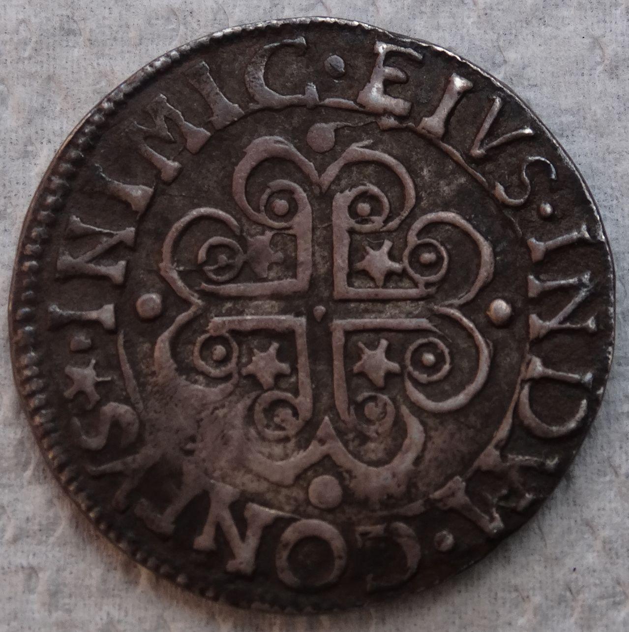 2 ½ reales de Carlos II. Cagliari DSC04382