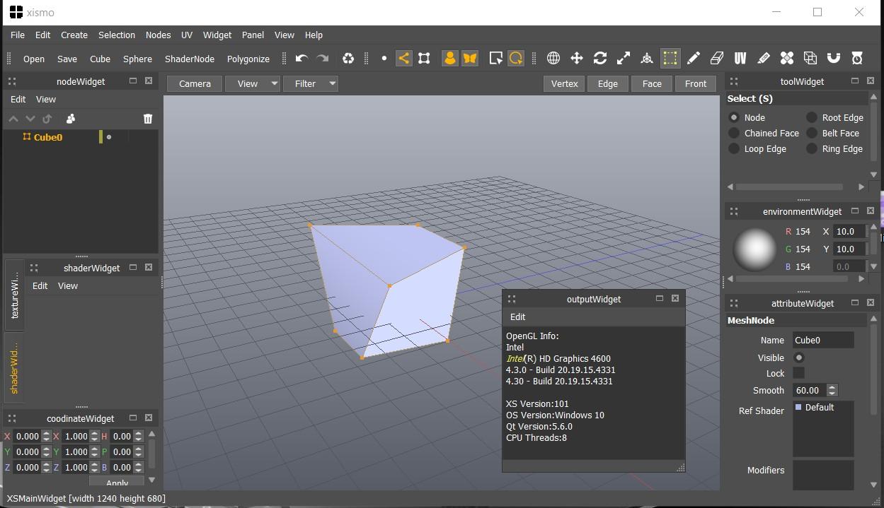 Xismo (Modeleur 3D) free Xismo