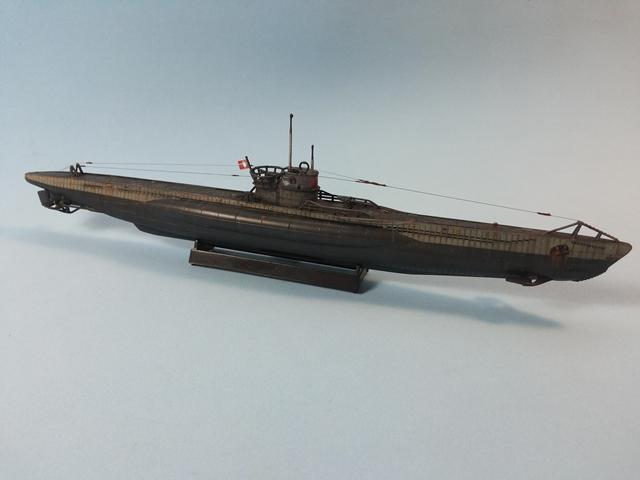U-Boat Type VII C - Revell 1/350 U_Boat_40
