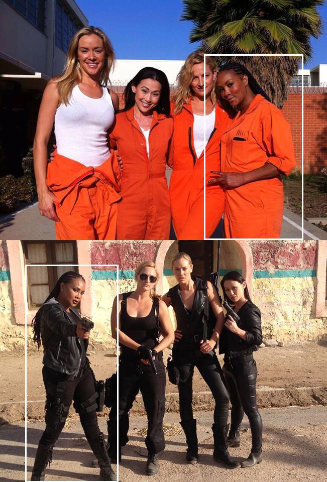 """Prison Raid (un Female """"Expendables"""" de serie B) Vianca"""