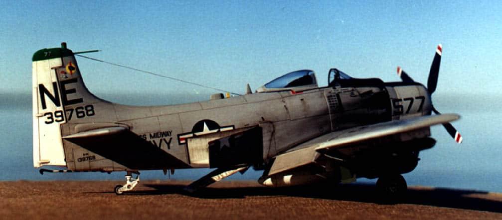 Skyraider A-1H Tamiya 1/48 A1_3
