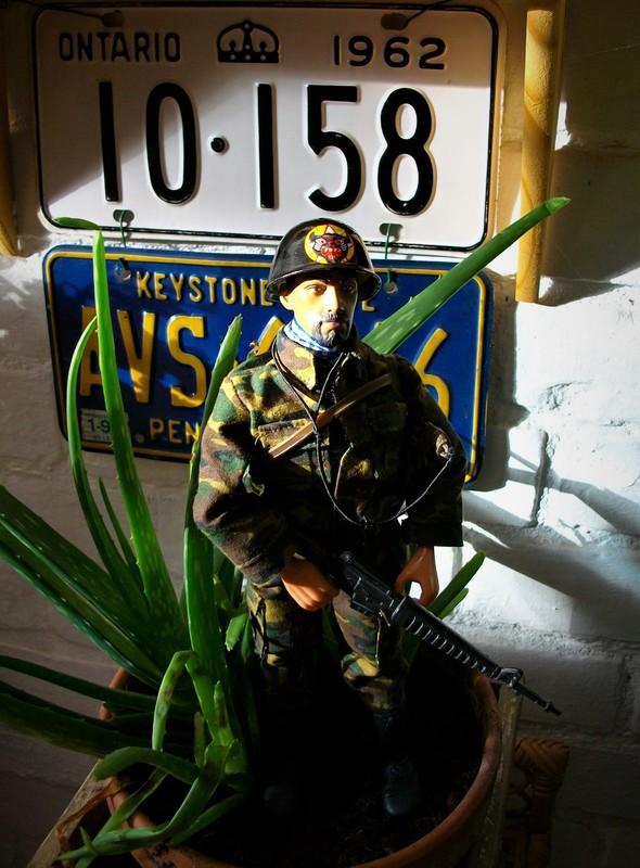 Vietnam ARVN (BietDong Quan) Black Cat Ranger Kitbash IMGP6714