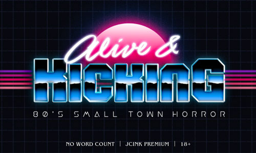 Alive and Kicking: '80s small town horror (jcink) Alive_Ad