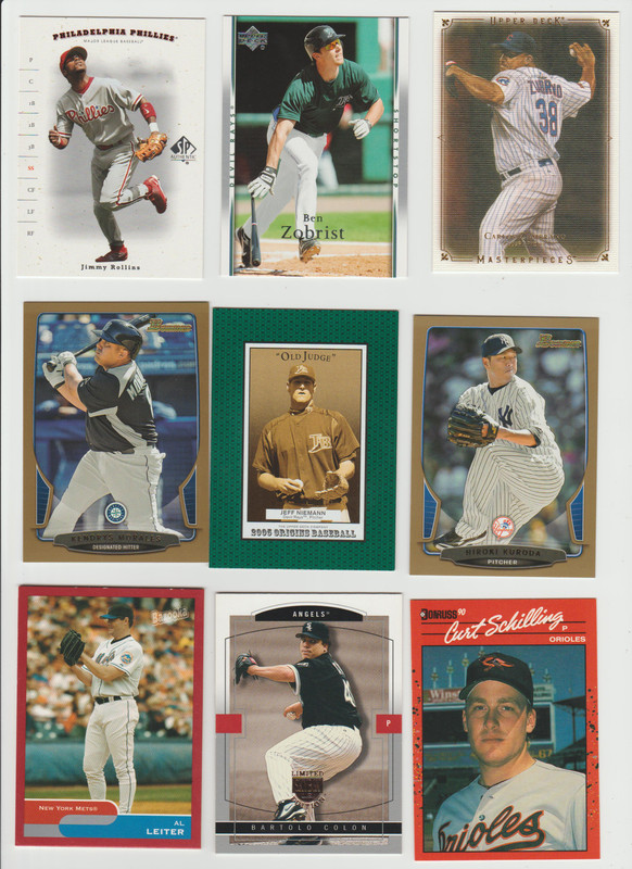 BB Cards F/S .10 cents Each (NEW LIST) Scanned Adding More 067