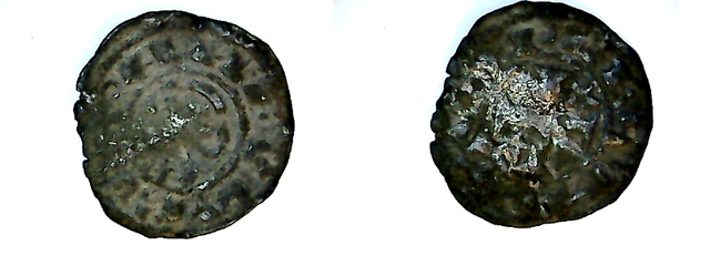 """Dinero """"bienpeinao"""" de Alfonso VIII (1158-1214) de Toledo N_7"""