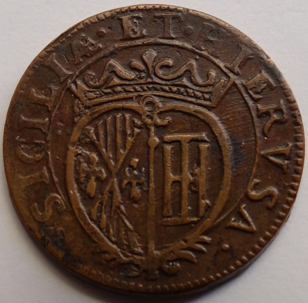 Grano de 1683. Carlos II, ceca de Nápoles DSC02920