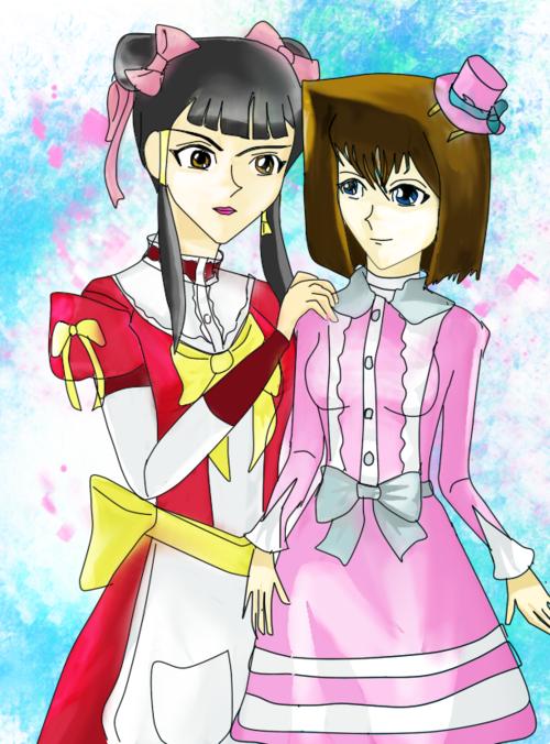 Hình vẽ Anzu Mazaki bộ YugiOh (vua trò chơi) - Page 3 1_Anzup_141