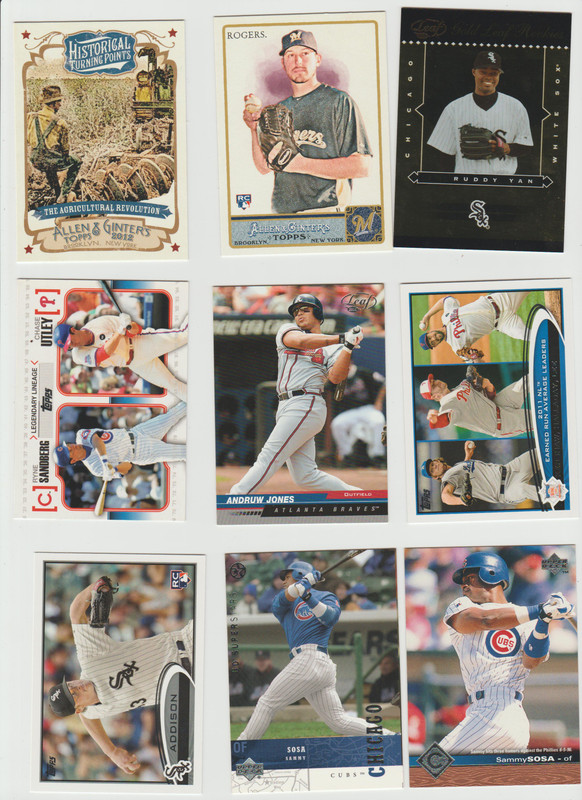 BB Cards F/S .10 cents Each (NEW LIST) Scanned Adding More 036
