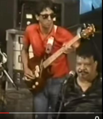 Show do Tim Maia em 1986 Baixista