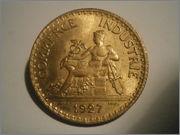 1 franco de Francia 1927 Camara de Comercio P3060774