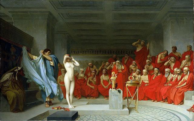 Plato, Augustine and Sticking to Your Diet Jean-_L_on_G_r_me_Phryne_revealed_before_the_Are