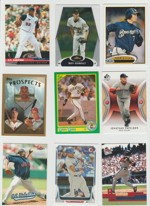 BB Cards F/S .10 cents Each (NEW LIST) Scanned Adding More 015