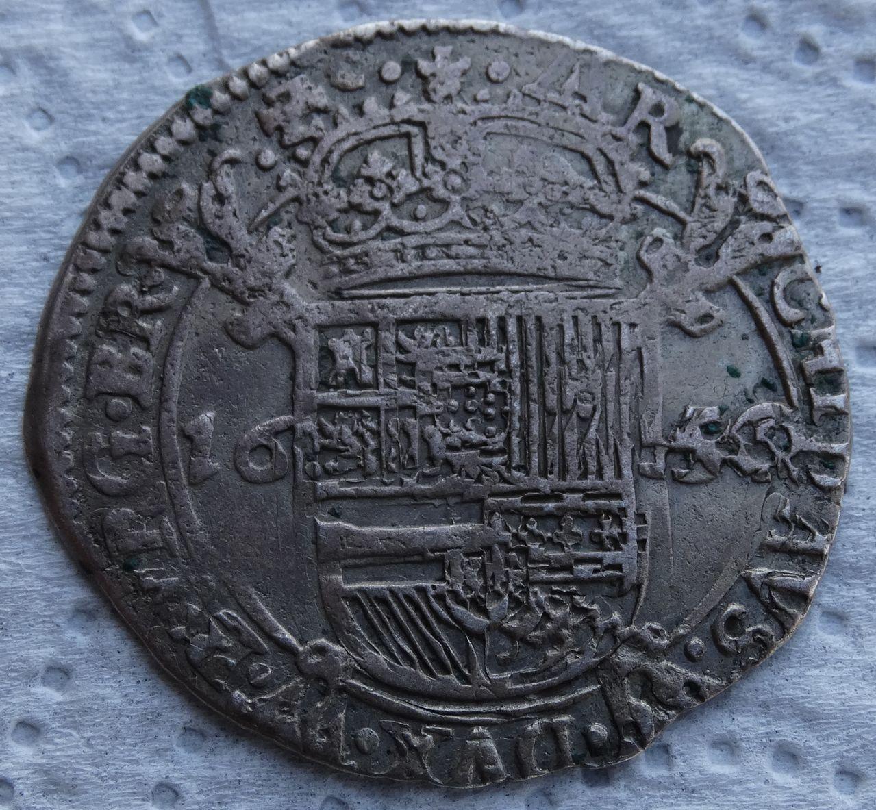 Escalin de 1654, Felipe IV. Amberes DSC04955