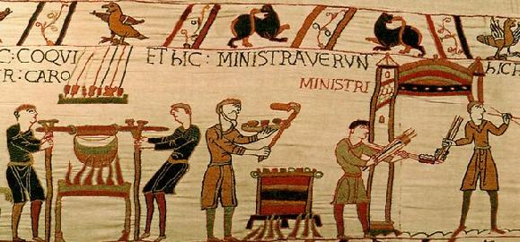 A taste of history – Hastelettes on fysshe day Bayeux_1