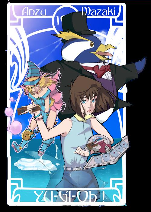 Hình vẽ Anzu Mazaki bộ YugiOh (vua trò chơi) 1_Anzup_34