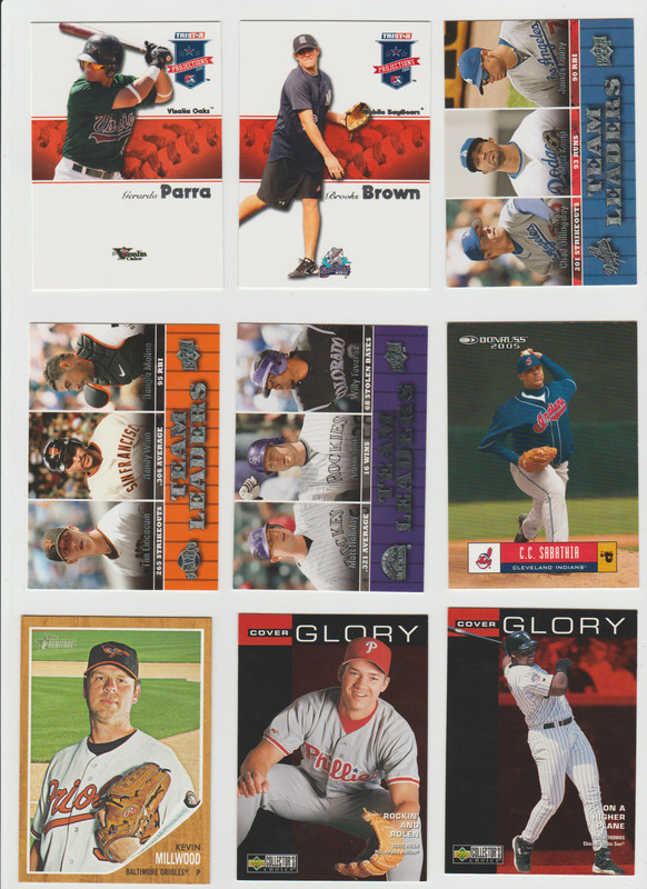 BB Cards F/S .10 cents Each (NEW LIST) Scanned Adding More 086