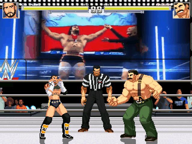 Supaman2525 Stage release:WWE Arena Mugen003