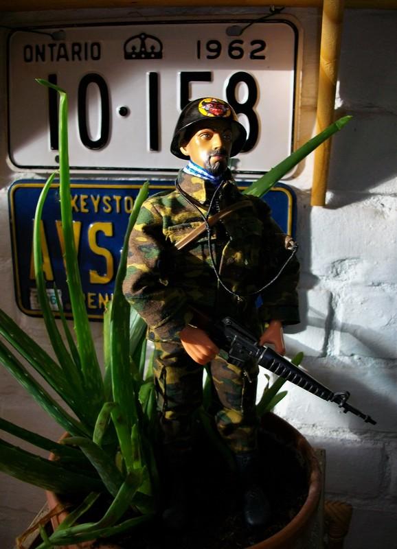 Vietnam ARVN (BietDong Quan) Black Cat Ranger Kitbash IMGP6712