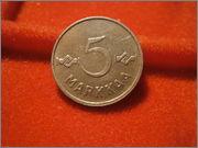 5 markkaa 1952 finlandia P9260125