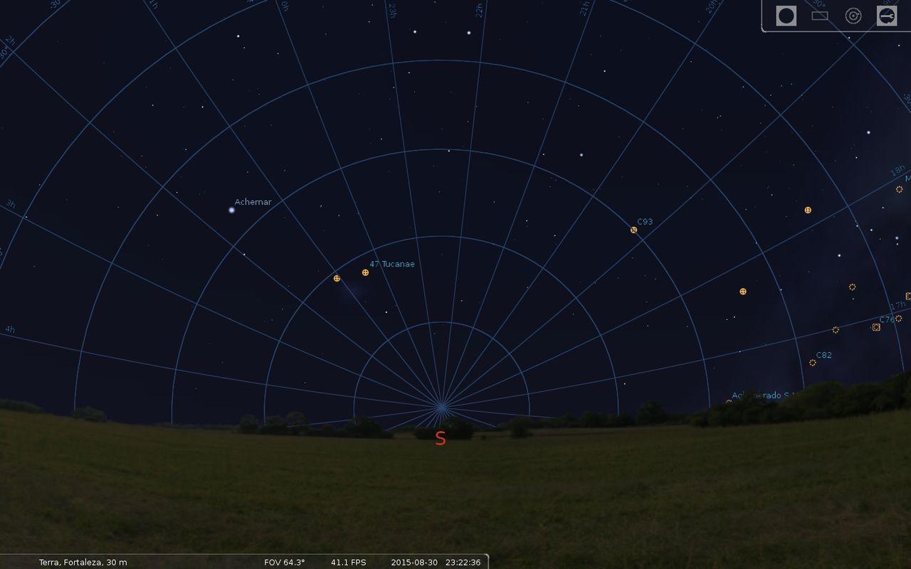 Celestial Pole Stellarium_000