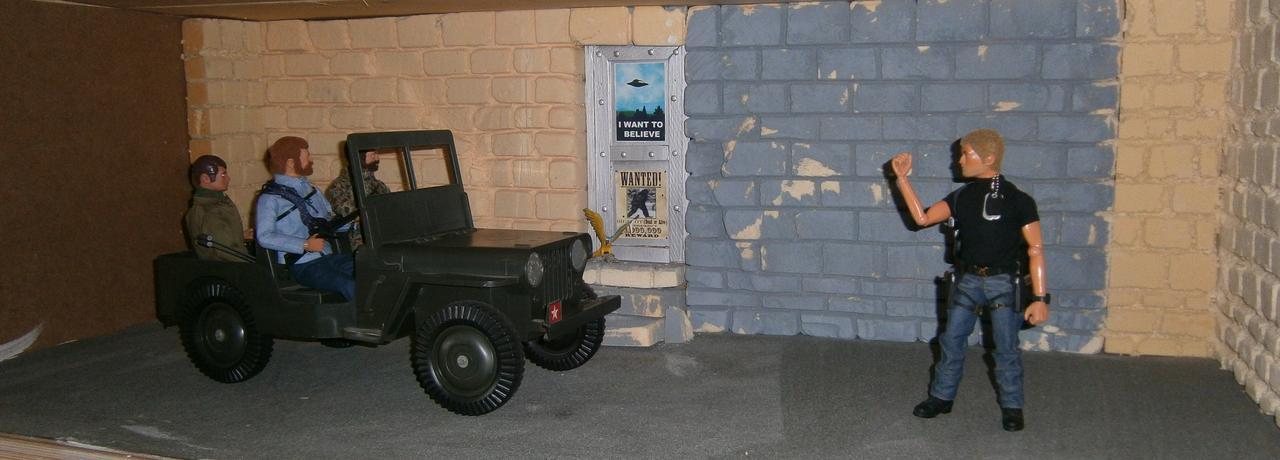 BAM HQ Garage / Armoury  P9150010