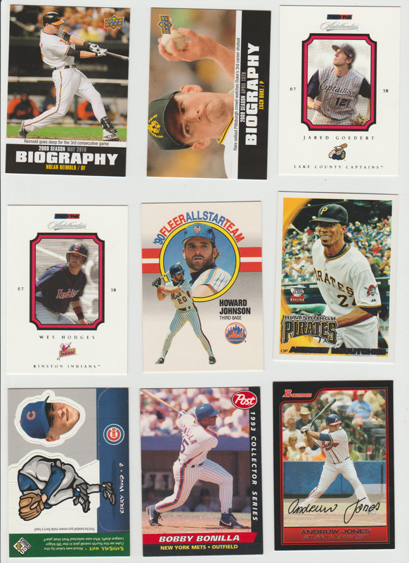 BB Cards F/S .10 cents Each (NEW LIST) Scanned Adding More 040