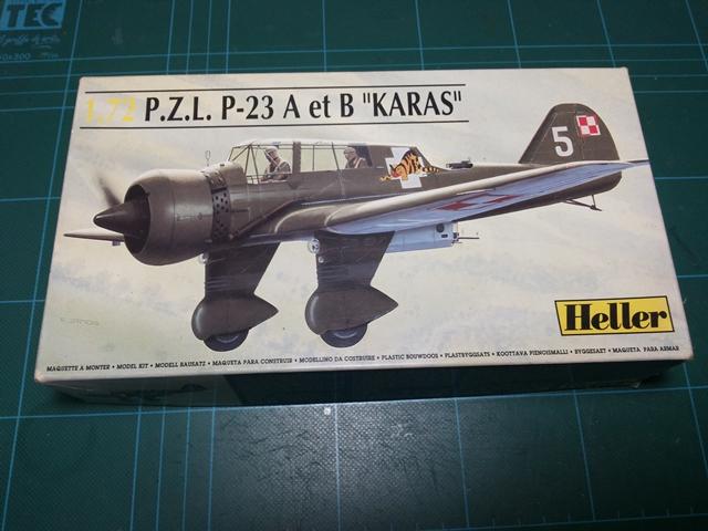 "PZL 23 ""Karas"" - Heller 1/72 PZL_01"
