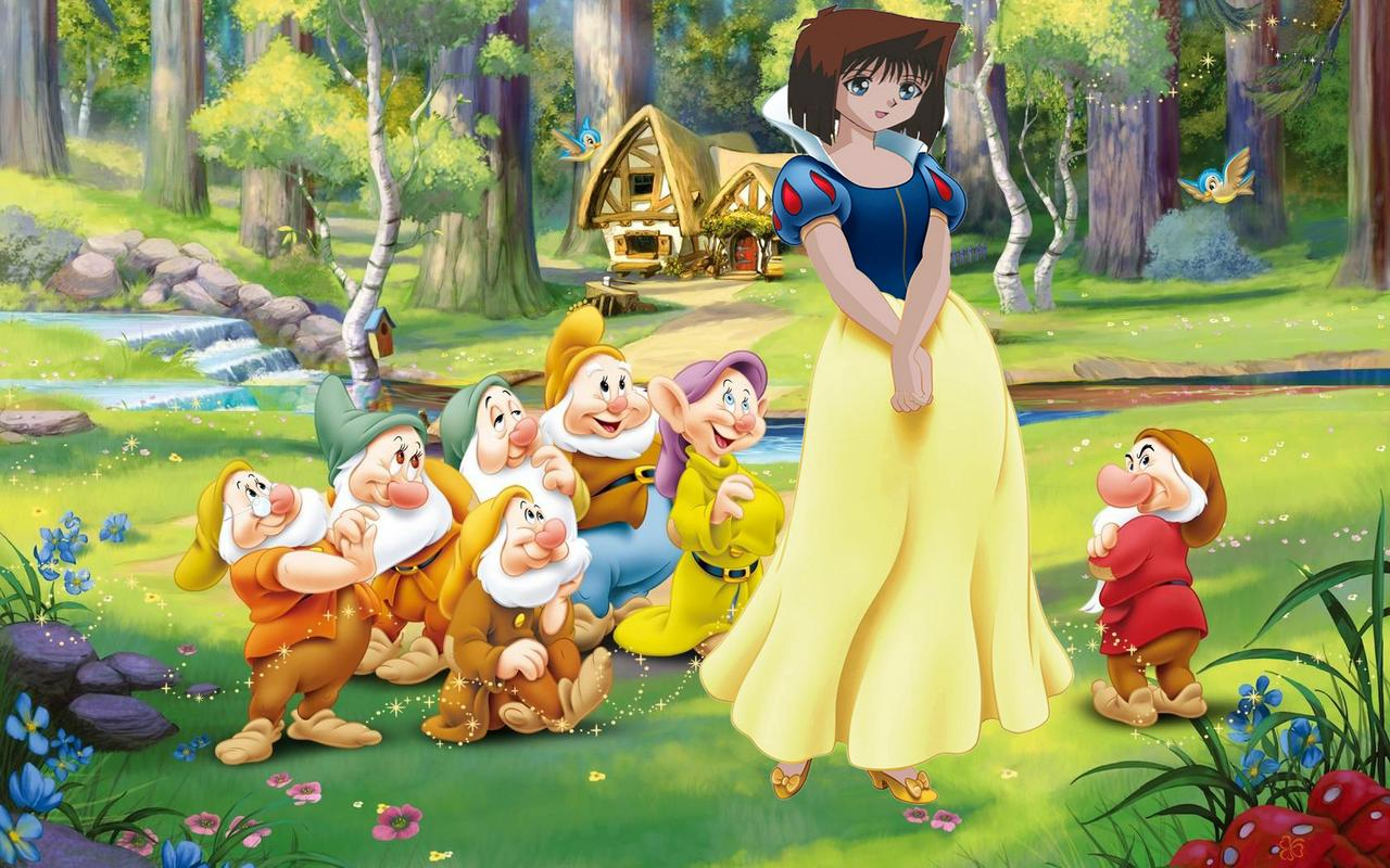 Hình Anzu Mazaki hóa trang thành truyện cổ tích Mow