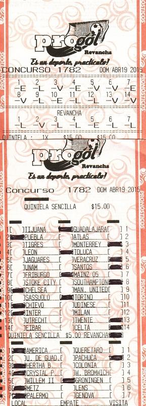 3ra. TEMPORADA DE QUINIELAS X GOL