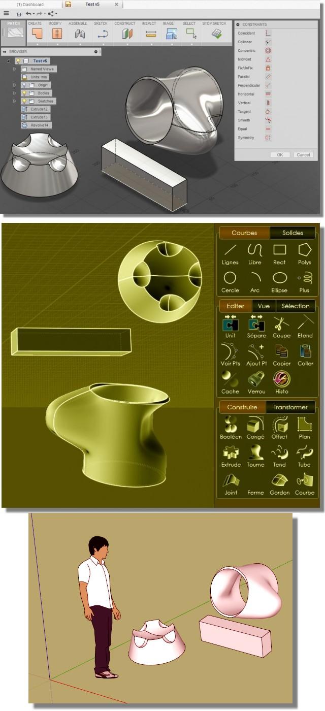logiciel MOI3D Workflow