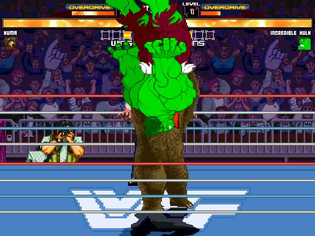 WWF-Ring Arena By Supaman2525 & OldGamer Mugen048