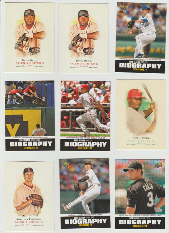 BB Cards F/S .10 cents Each (NEW LIST) Scanned Adding More 033