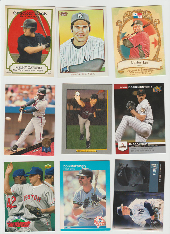 BB Cards F/S .10 cents Each (NEW LIST) Scanned Adding More 058
