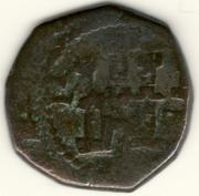 2 Maravedíes de Felipe III de Segovia, 1602/3 F_III_2_Maravedis_1602-2_Segovia_anv
