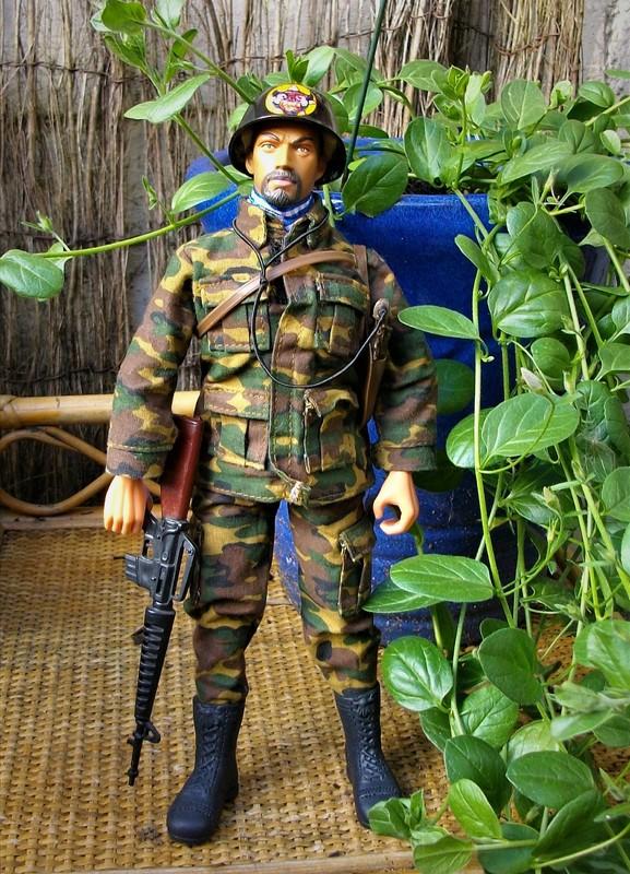 Vietnam ARVN (BietDong Quan) Black Cat Ranger Kitbash IMGP6689