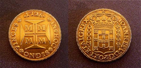 Dobrão -  20.000 Reis. Portugal. 1726 - Página 2 Image