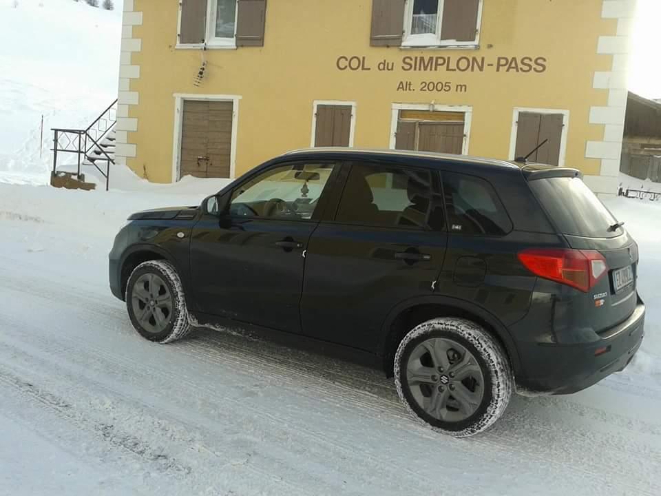 My Vitara allgrip on the snow FB_IMG_1452937220203