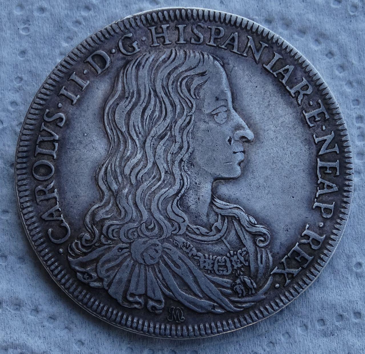 Ducado de 1684, Carlos II  ceca de Nápoles DSC04943