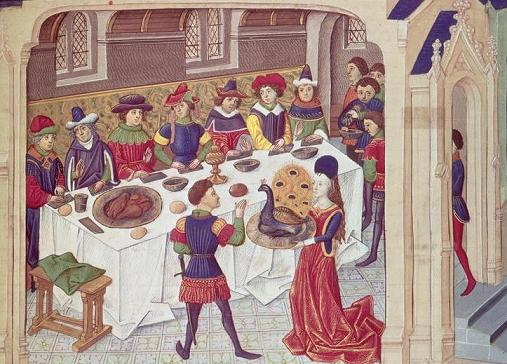 Dish of the Day - Page 7 Banquet_du_paon_The_Romance_of_Alexander_the_Gre
