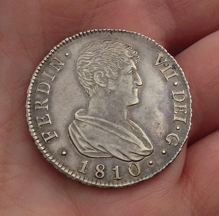 4 reales 1810. Fernando VII. Valencia IMG_0540