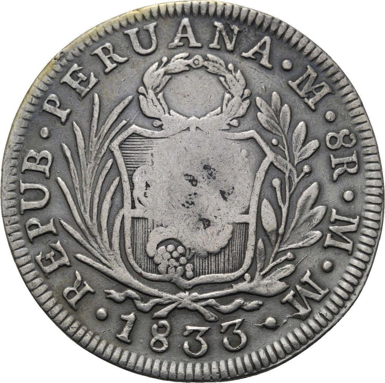 8 REALES FILIPINAS RESELLO FERNANDO VII ¿AUTENTICO? 57_3