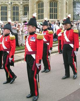 Dish of the Day - II Military_Knights_of_Windsor