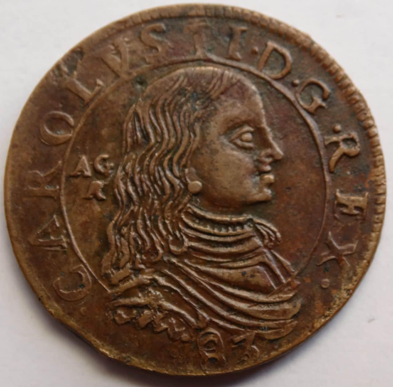 Grano de 1683. Carlos II, ceca de Nápoles DSC02918